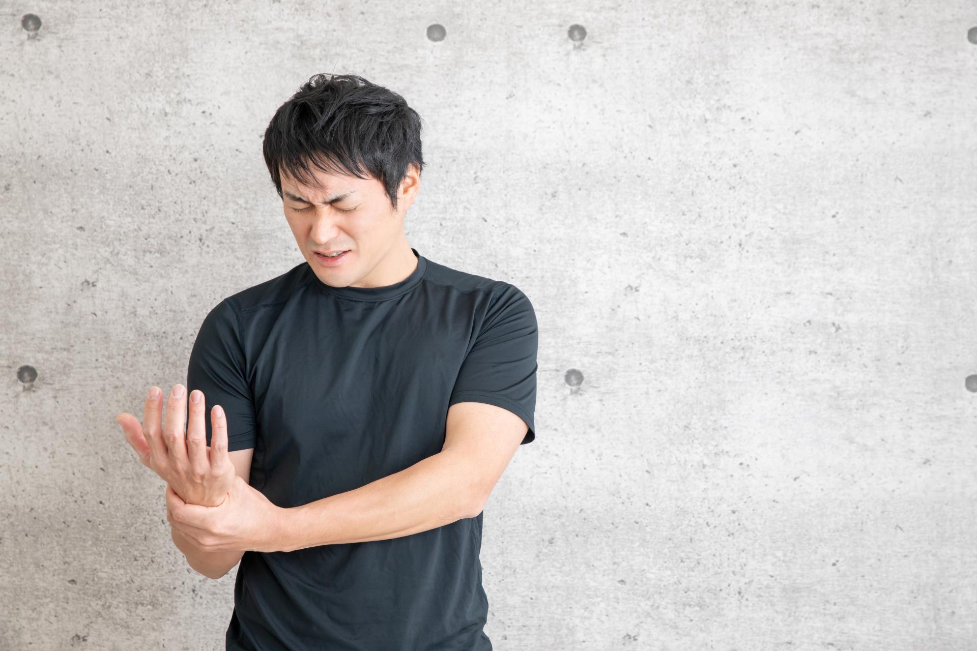 筋トレ 手首の怪我